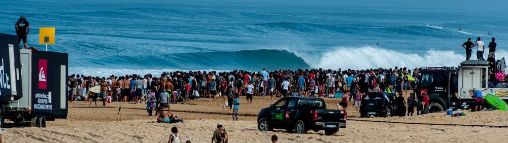 Experience the frenetic atmosphere of the Quik Pro France