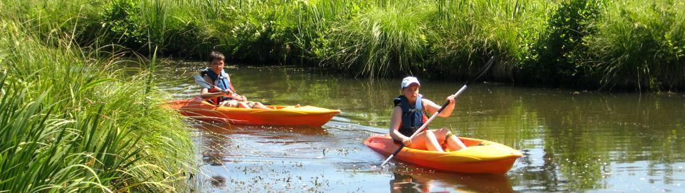 Discover local lakes of Landes South West France with caones